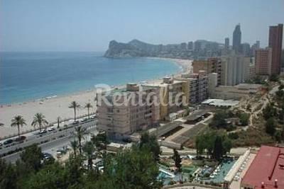 Playa poniente la cala en benidorm alicante - Apartamentos en benidorm playa poniente ...