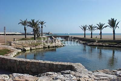 Playa coma ruga en el vendrell tarragona apartamentos for Apartamentos jardin playa larga tarragona