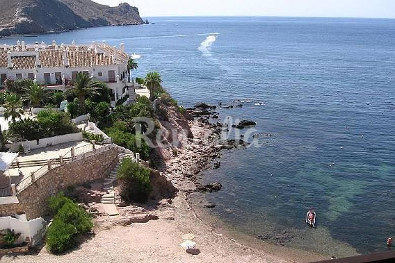 Apartamento 1era linea playa Calabardina Aguilas Murcia