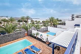 Villa 1ª linea de playa Lanzarote