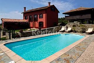 Villa with 5 bedrooms 3.5 km from the beach Asturias