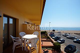 Apartments with 1 doubroom on beach front line Girona