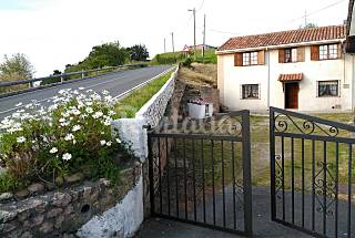 House for rent on the beach front line Cantabria
