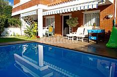 Casa para 10 personas a 150 m de la playa Barcelona