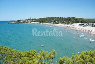 Casa per 7 persone a 200 m dal mare.  Tarragona