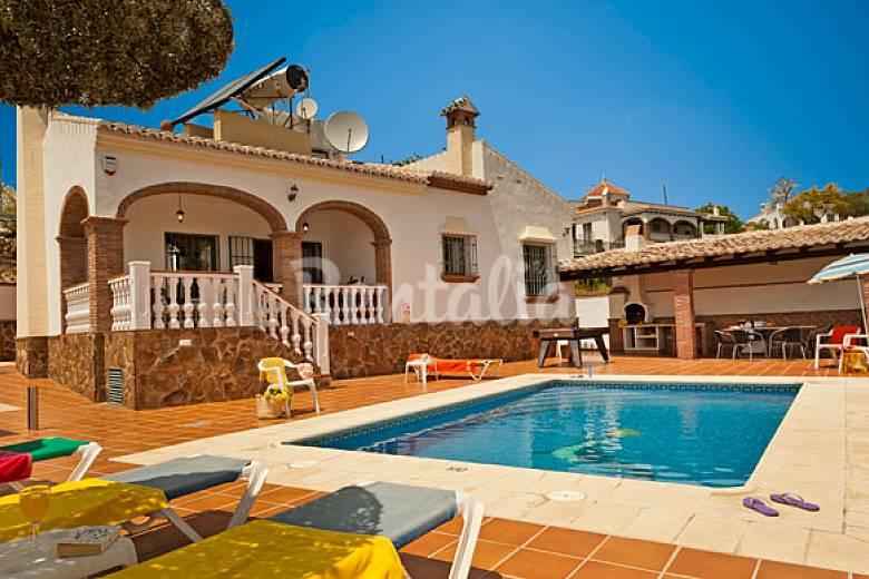 Villa Tres Olivos Nerja Costa Del Sol Malaga Nerja M Laga Costa Del Sol