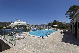 Luxury Villa in Port Andratx with panoramic pool. Majorca