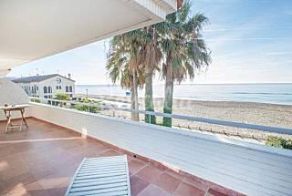 Altafulla Casa  8 personas en 1a línea de playa Tarragona