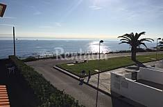 Apartments with garden on the beach front line Castellón