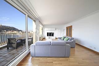 Amazing apartment in first line of La concha beach Gipuzkoa