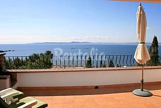 Spectacular sea view at 3 minutes from the beach Girona