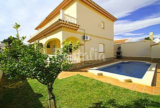 Villa for rent only 650 meters from the beach Tarragona