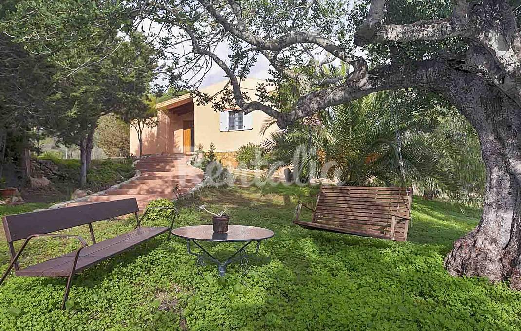 Villa en km7 cerca de Cala Jondal y Ibiza town Ibiza/Eivissa