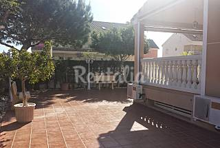 House for 10-13 people only 100 meters from the beach Valencia