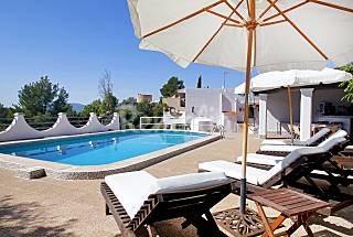 Villa for 8 people with private pool. Ibiza