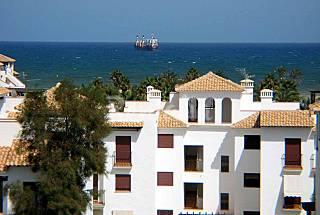 VenAVera ALTOS Ático H13B  2Dorm/1Baño 250m.Playa Almería