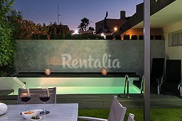 Villa en alquiler con piscina san agustin san bartolom for Piscinas san agustin burgos