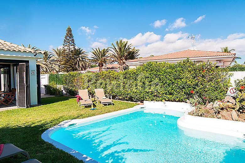 Villa en alquiler con piscina maspalomas san bartolom - Villas en gran canaria con piscina ...