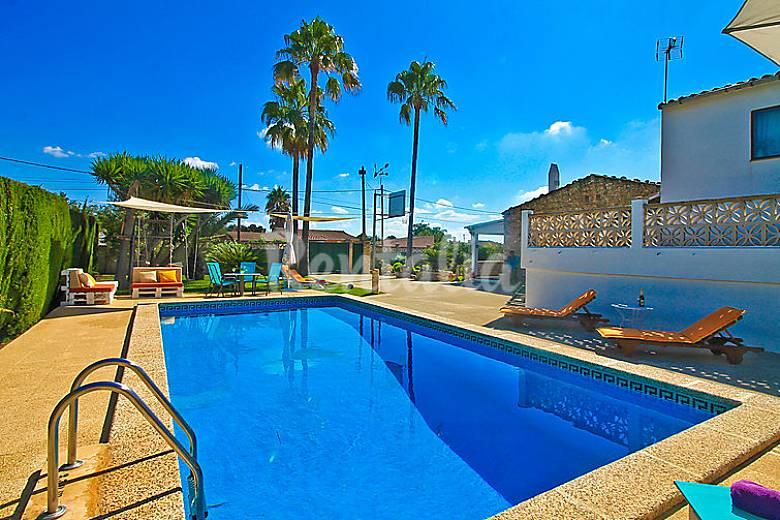 Villa En Alquiler En Mallorca Jornets Sencelles Mallorca