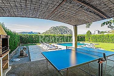 Casa en alquiler con piscina pollen a mallorca sierra for Casas con piscina mallorca