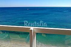 Apartment for 4 people on the beach front line Murcia