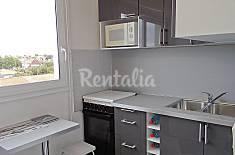 Apartamento para 4 personas en 1a línea de playa Charante-Marítimo