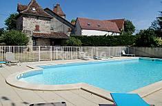 Villa en location avec piscine Lot