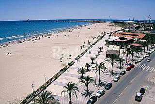 Apartment for 7 people only 800 meters from the beach Valencia