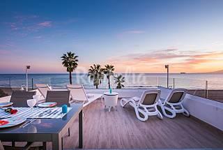 Villa en 1a línea de playa en Malaga Ciudad Málaga