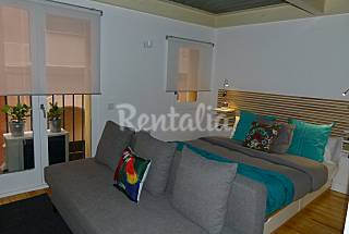 Apartment for rent on the beach front line Barcelona