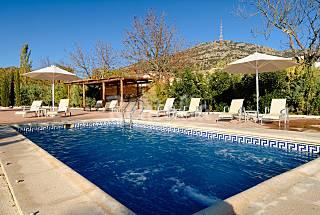 destinos para disfrutar del turismo teatral idealista news On casa rural para 20 personas con piscina