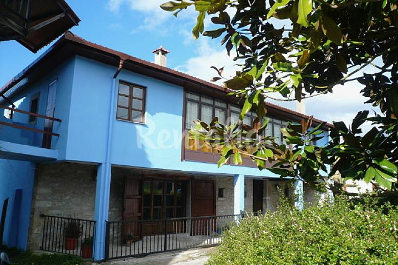 Casa con encanto para 6 10 personas prado panera el tarano salas asturias - Casas con encanto asturias ...