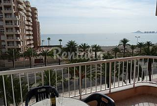 Apartment for rent only 50 meters from the beach Murcia