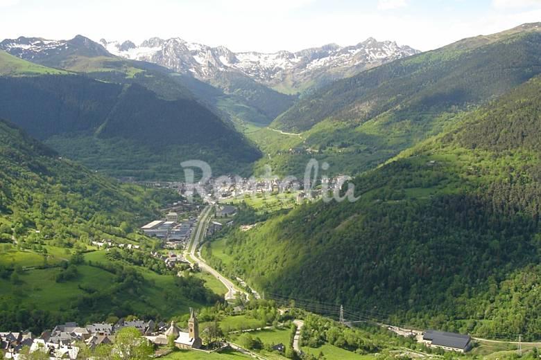 Acogedor Vistas desde la casa Lleida/Lérida Vielha e Mijaran Apartamento