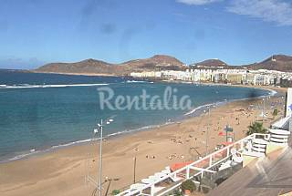 Apartamento para 2-3 personas en 1a línea de playa Gran Canaria
