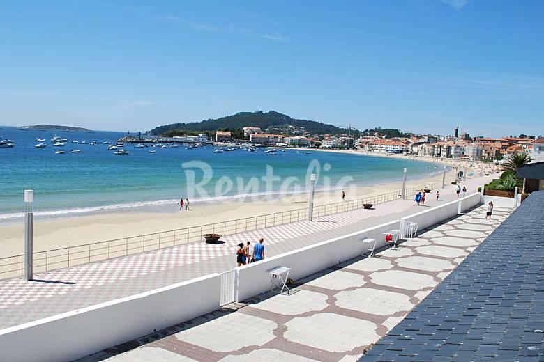 2 apartamentos en alquiler en 1a l nea de playa panxon - Sofas baratos en pontevedra ...