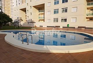 Apartamento en 1ª linea con piscina en Dénia Alicante