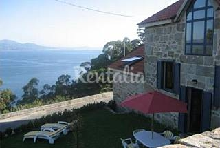 House for 8 people with private garden A Coruña