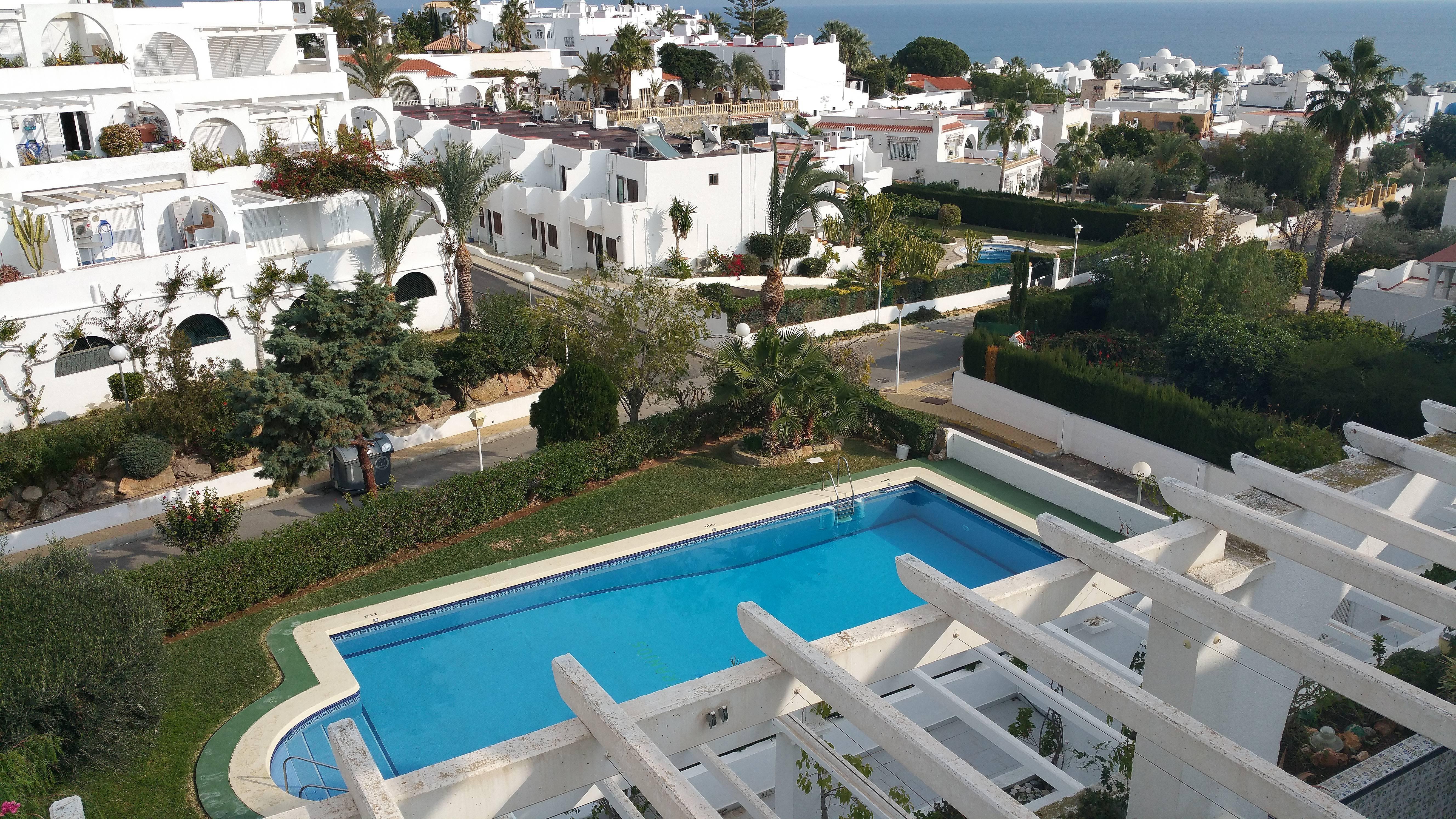 Apartamento de 2 habitaciones a 300 m de la playa for Apartamentos playa mojacar