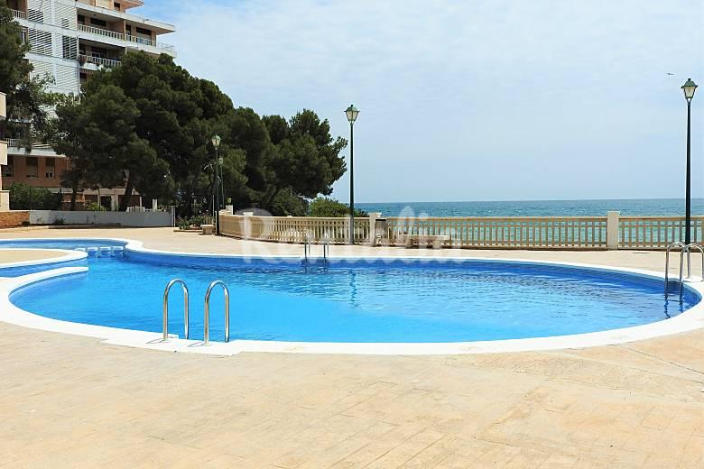 Apartment, Terrace views, Sea. 50m Beach. Parking. Castellón