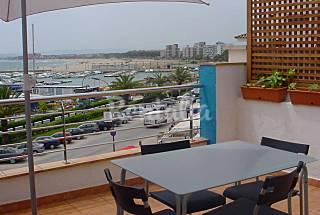 Céntrico apartamento con terraza en primera línea  Girona/Gerona