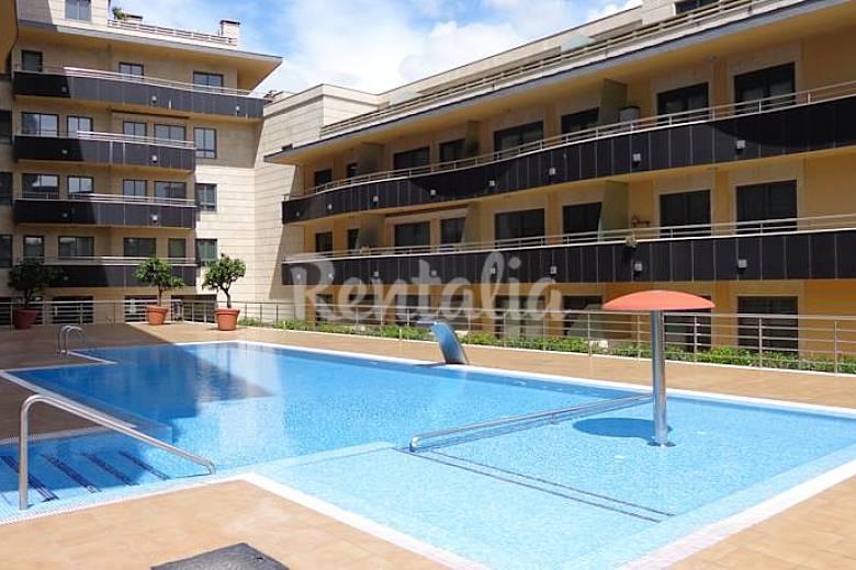 Apartamento con piscina en sanxenxo a pie de playa sanxenxo sanxenxo sangenjo pontevedra - Piscinas en pontevedra ...