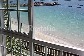 Apartamento en alquiler en 1ª línea de playa Pontevedra
