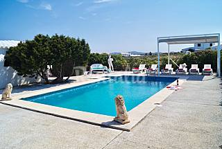 Villa 3 habitaciones con vistas mar en Cala Morell Menorca