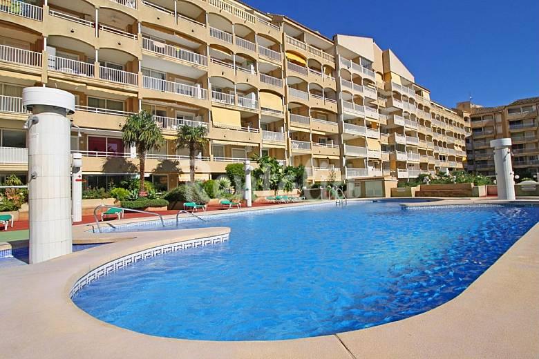 apartamentos en calpe playa del arenal piscina calpe