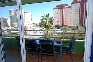 Apartment Overlooking sea. Premium. Great Swi Pool Valencia