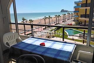 Apartamento de 1 habitaciones en 1a línea de playa Castellón