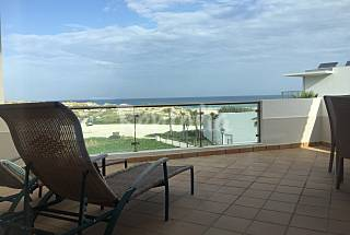 Penthouse first line on the beach Leiria