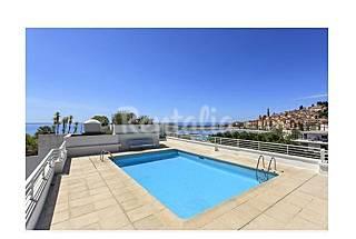 Apartamento para 2-4 pessoas em frente à praia Alpes Marítimos