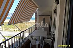 Apartment with 2 bedrooms on the beach front line Cantabria